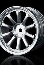 MST 77SV Wheel (4pcs) by MST Flat Silver 5mm