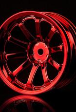 MST 77SV Wheel (4pcs) by MST Red 11mm