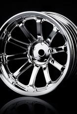 MST 77SV Wheel (4pcs) by MST Silver 11mm