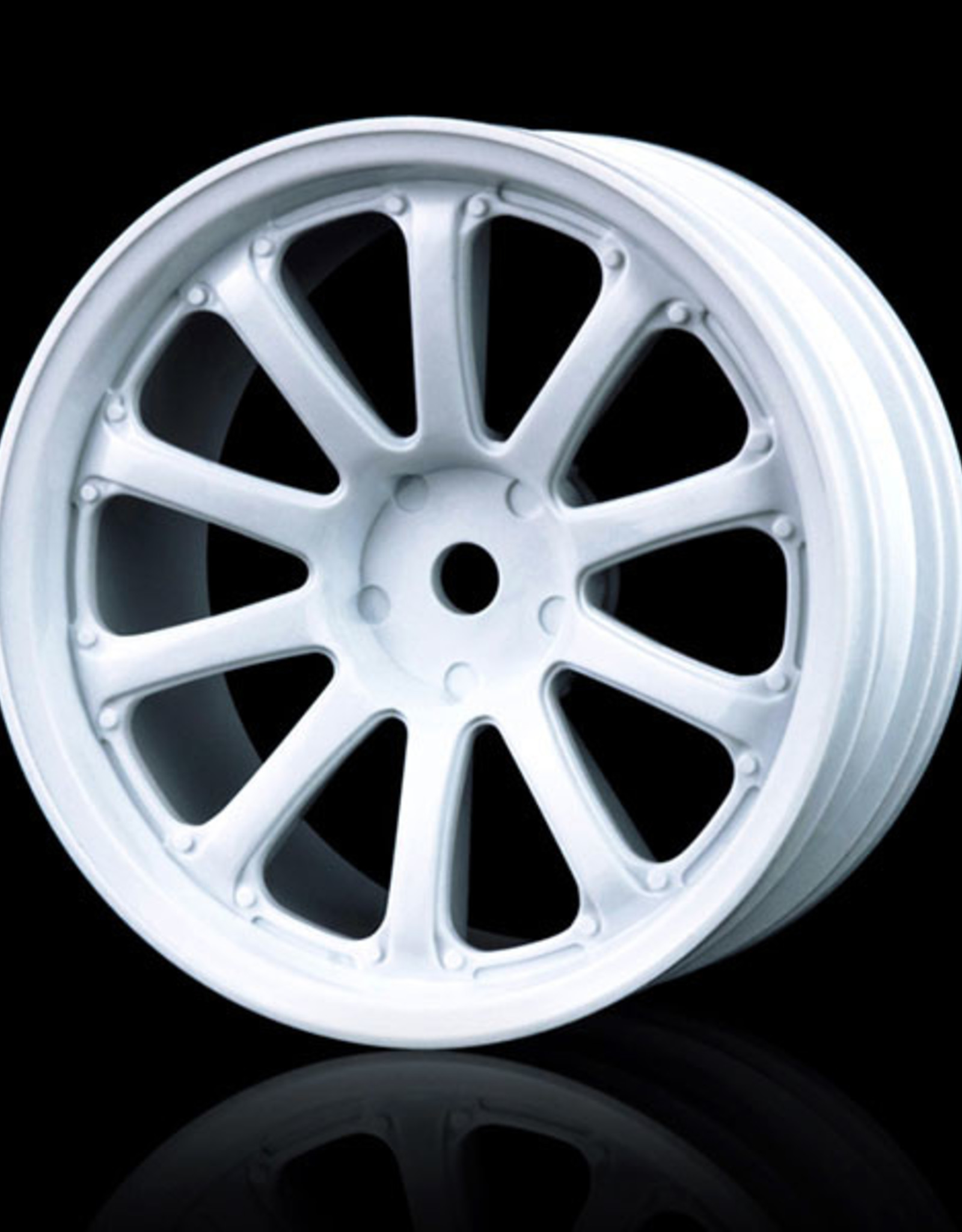 MST 77SV Wheel (4pcs) by MST White 5mm