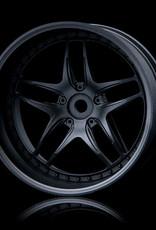 MST FB Wheel (4) by MST Flat Black 11mm