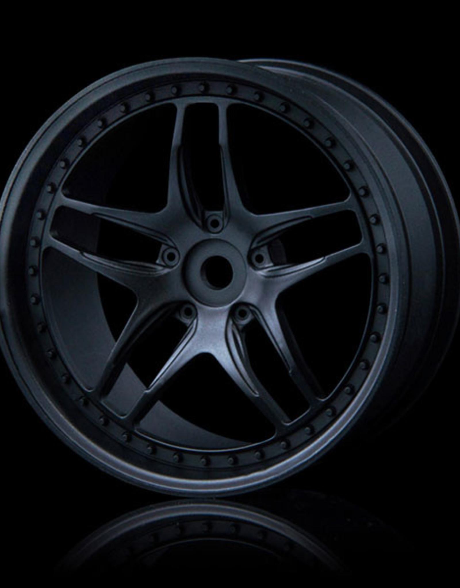 MST FB Wheel (4) by MST Flat Black 3mm