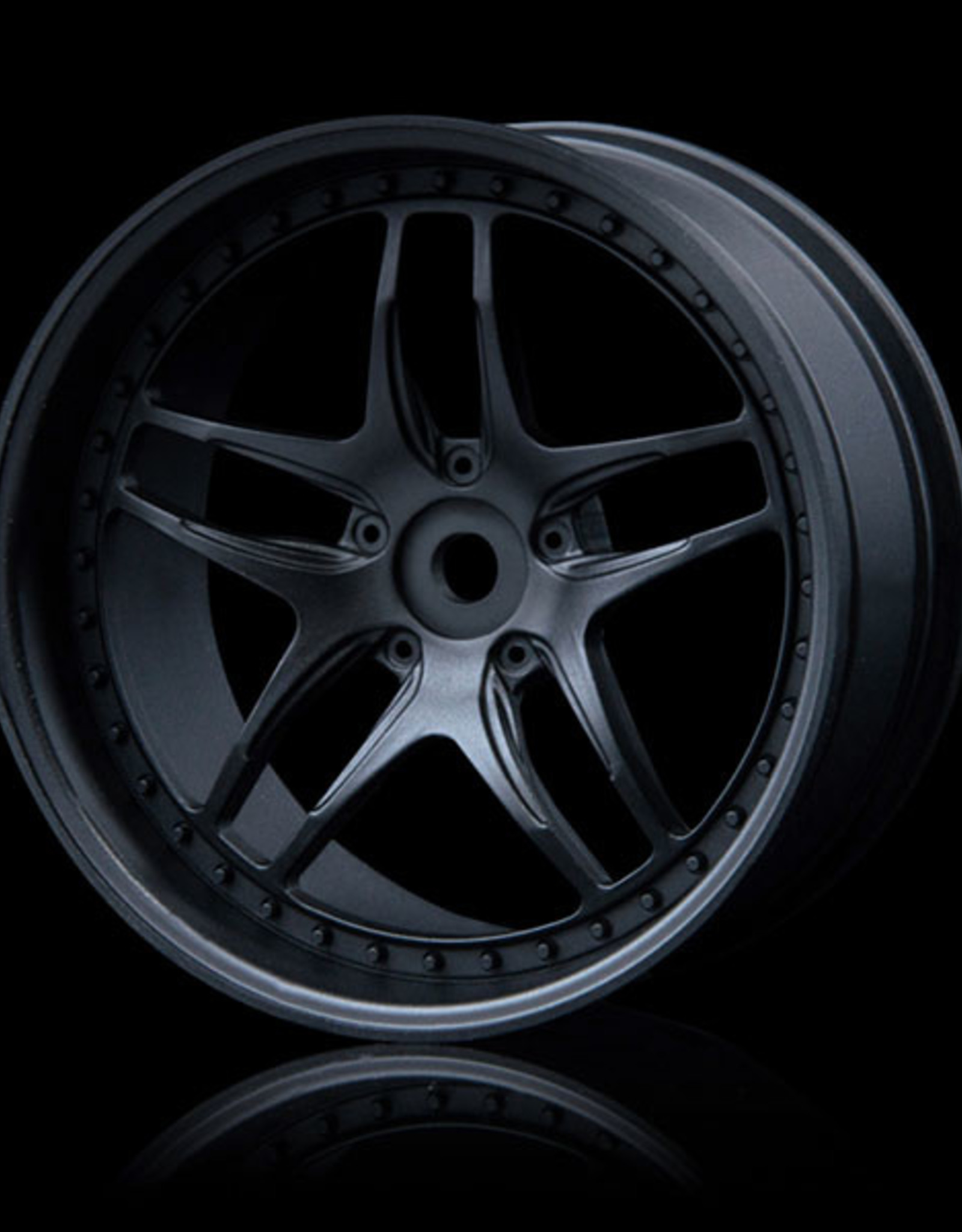 MST FB Wheel (4) by MST Flat Black 5mm