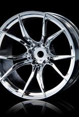 MST FX Wheel (4) by MST Silver 11mm