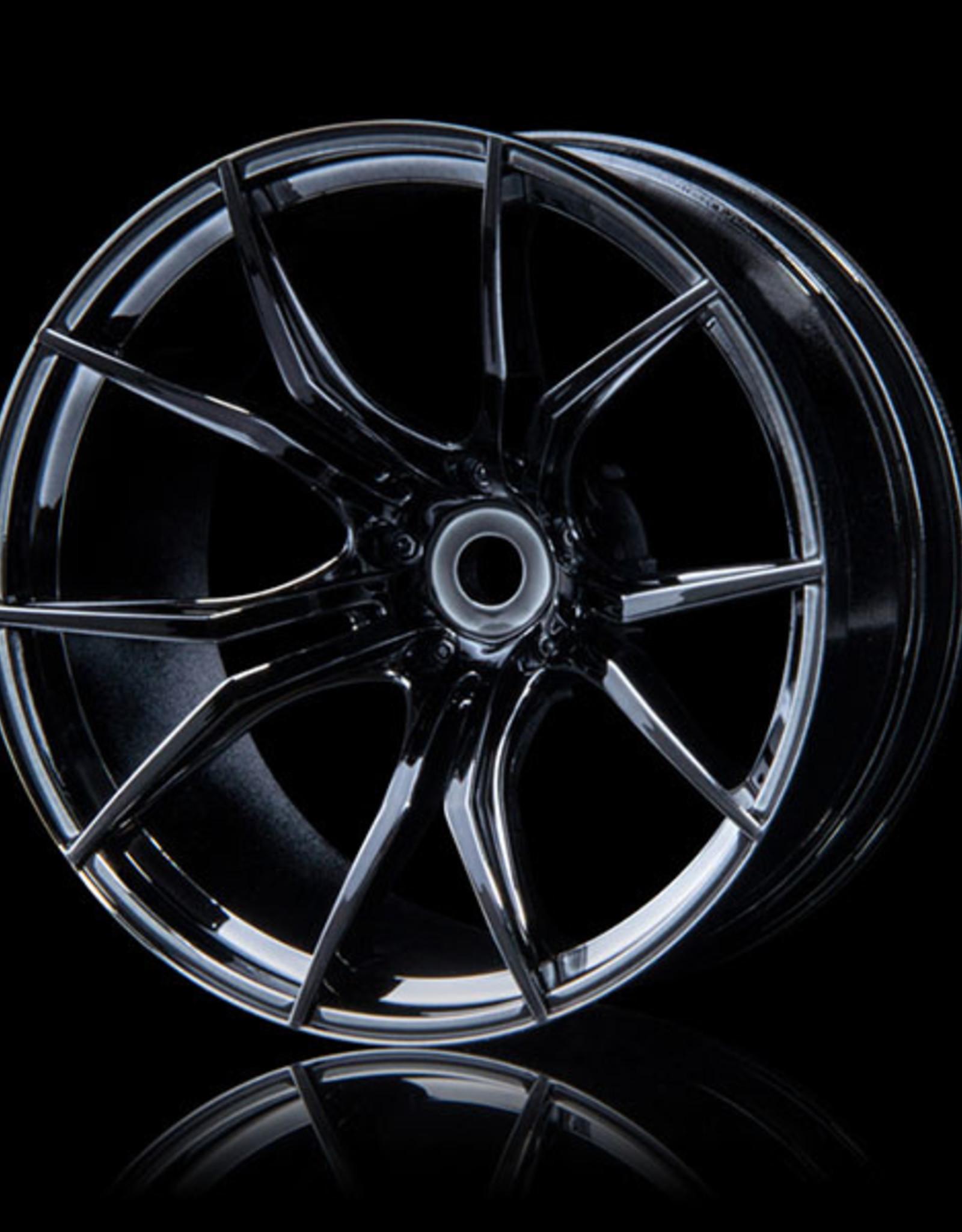 MST FX Wheel (4) by MST Silver Black 11mm