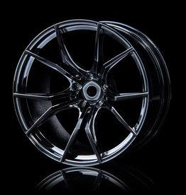 MST FX Wheel (4) by MST Silver Black 8mm