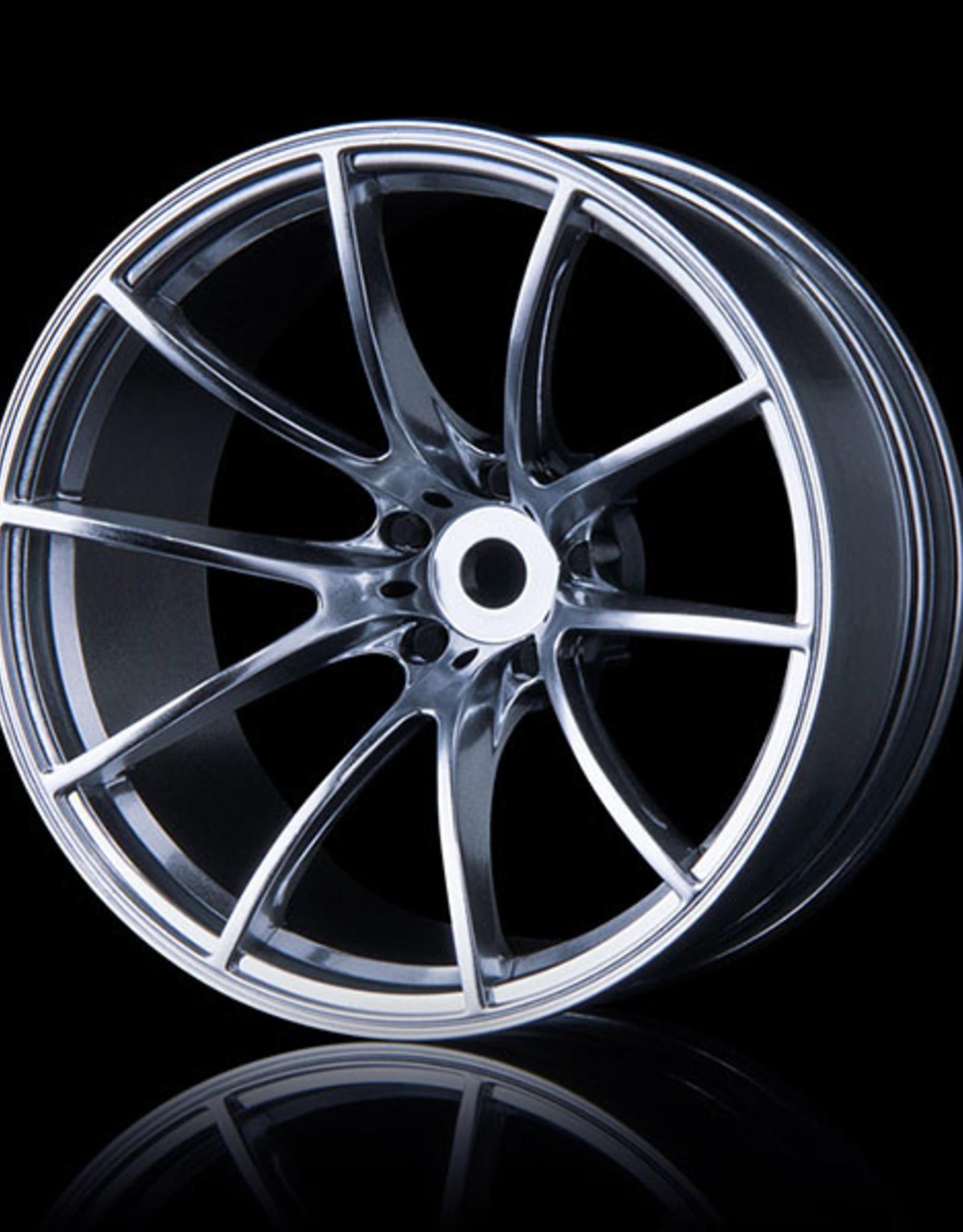 MST G25 Wheel (4) by MST Flat Silver 11mm