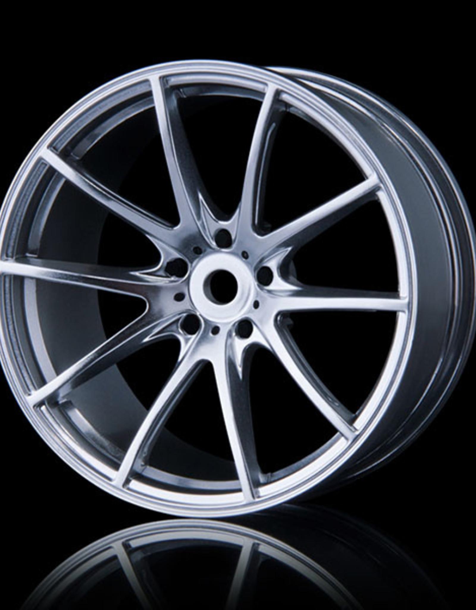 MST G25 Wheel (4) by MST Flat Silver 3mm