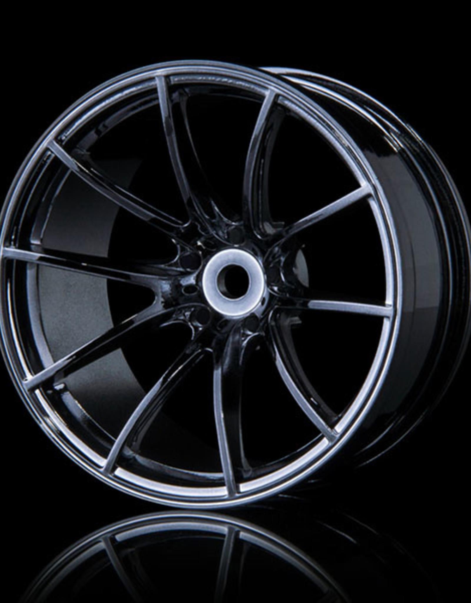 MST G25 Wheel (4) by MST Silver Black 8mm