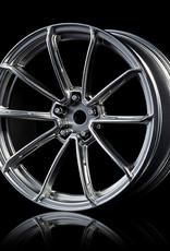 MST GTR Drift Car Wheel by MST Flat Silver 3mm