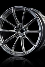 MST GTR Drift Car Wheel by MST Flat Silver 5mm