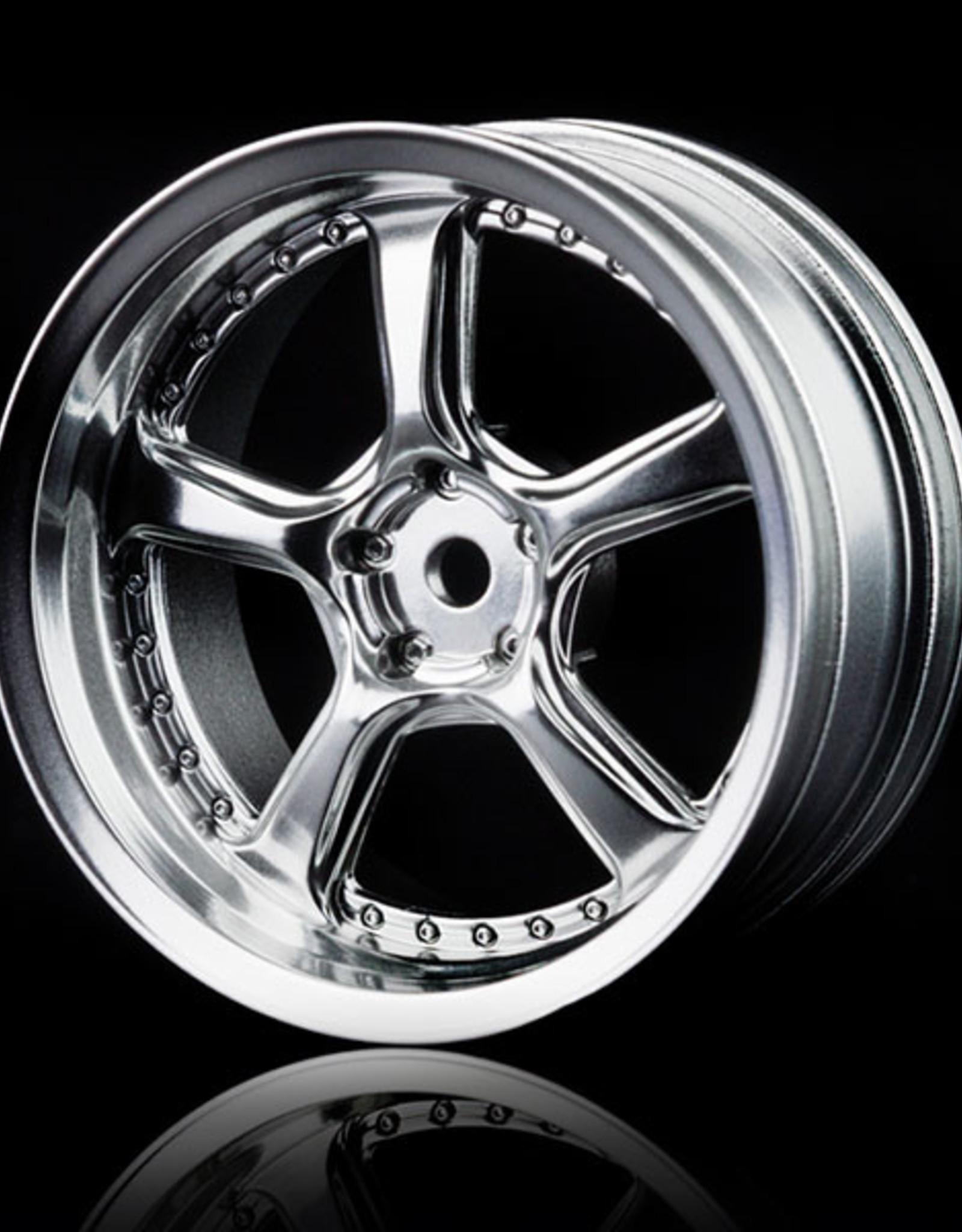 MST Kairos Wheel by MST Flat Silver 5mm