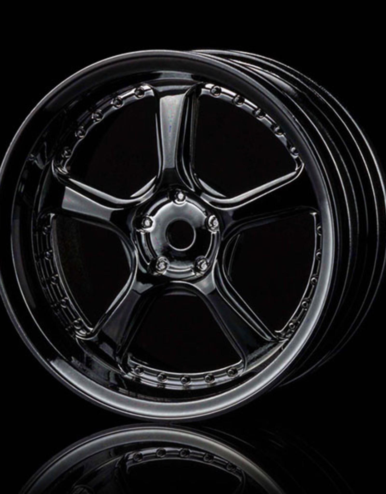 MST Kairos Wheel by MST Silver Black 3mm