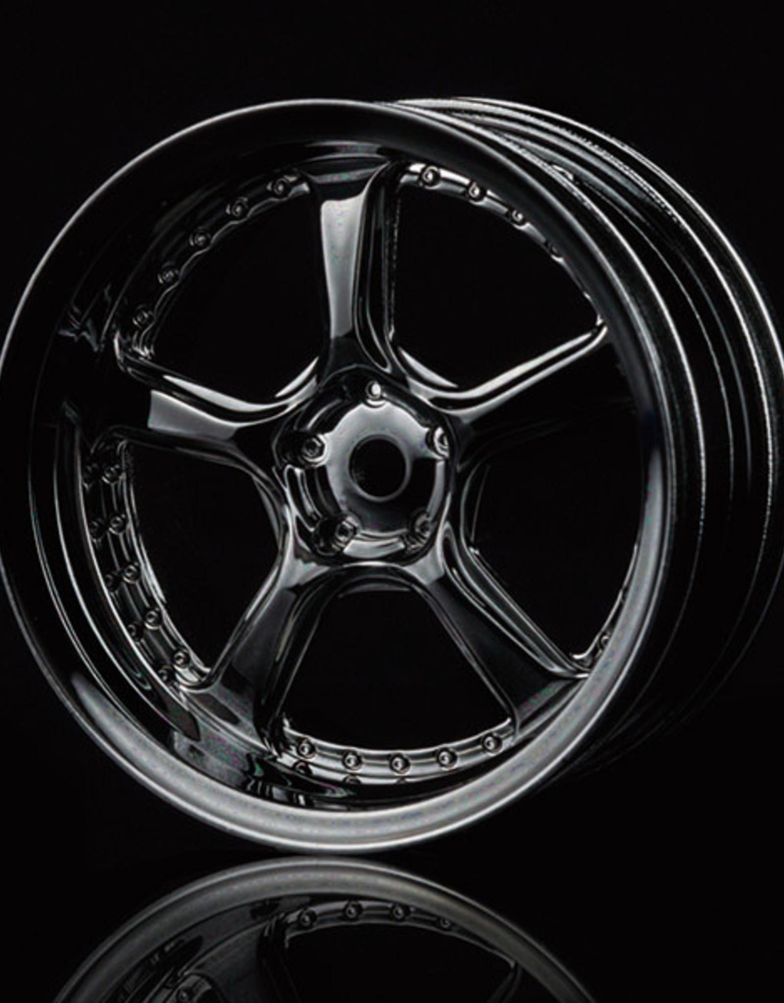 MST Kairos Wheel by MST Silver Black 5mm