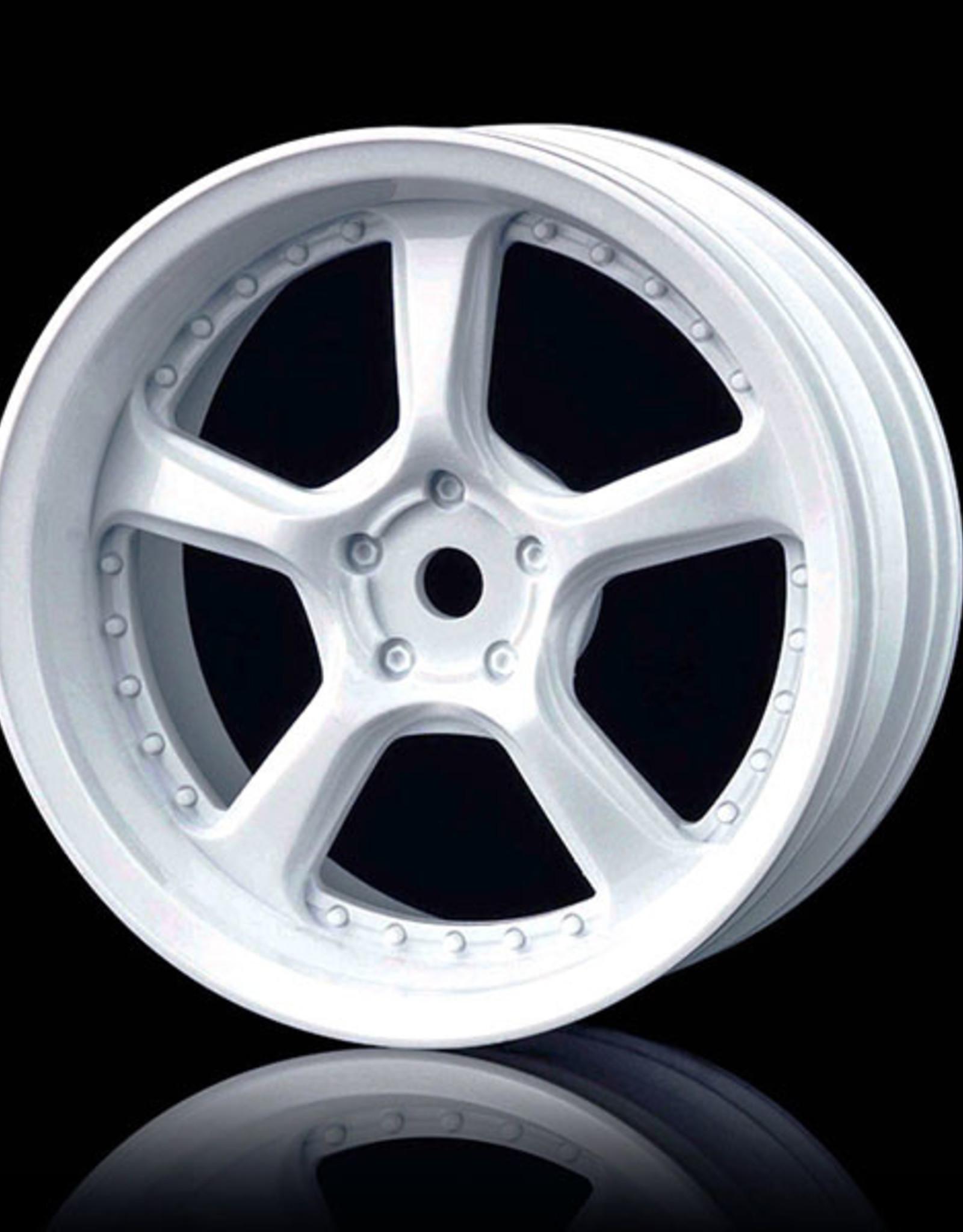 MST Kairos Wheel by MST White 3mm