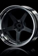 MST MST GT Wheel Set (Chrome/Matte