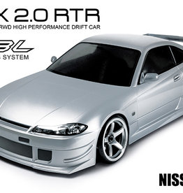 MST RMX 2.0 RTR NISSAN S15 (silver) (brushless)