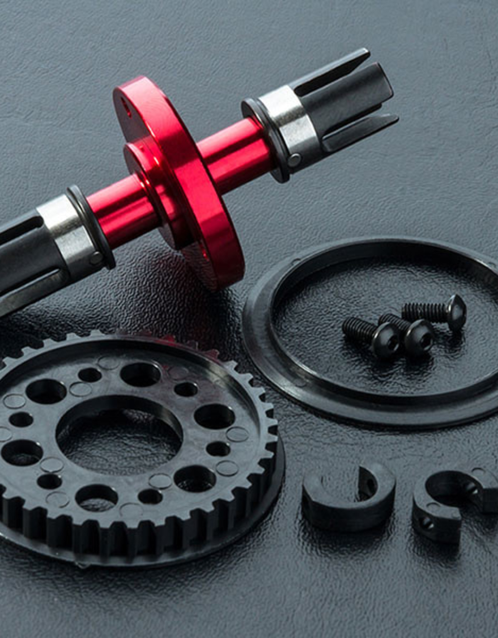 MST MXPSD210436R RMX Alum. solid axle set (red) by MST