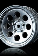 MST MXSPD102096FS Flat silver 58H wheel (+5) (4) - MST 102096FS
