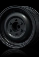 MST Black flat 60D wheel (+5) (4) - MST 832070BKF