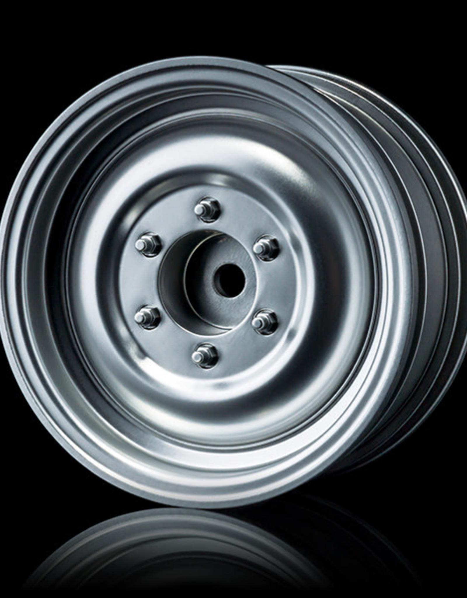 MST 230032FS Flat silver 60D wheel (+5) (4) - MST