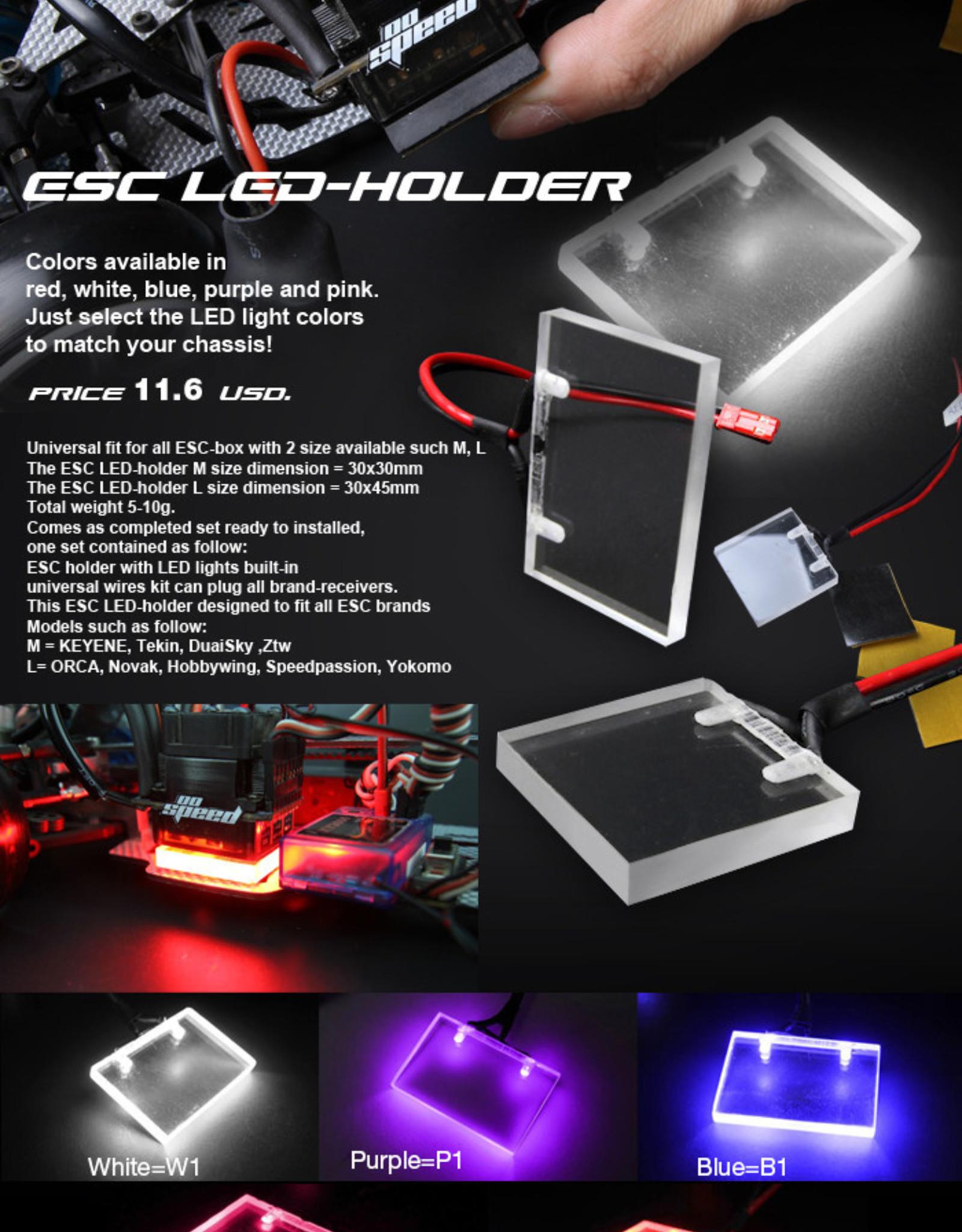 Oospeed L0010P2 Venom ESC LED Large (Pink) - Oospeed