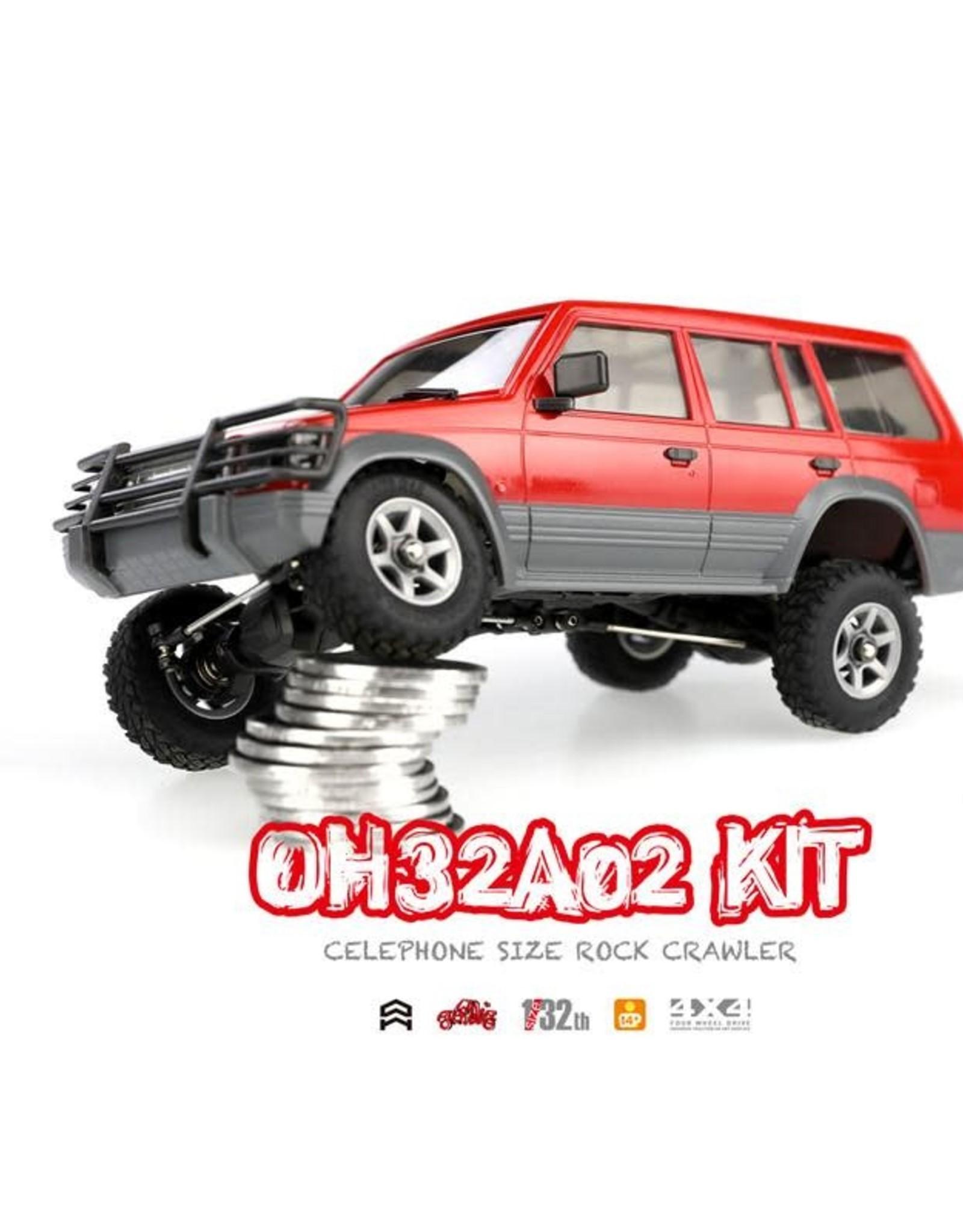 Orlandoo Orlandoo 1/32 4WD DIY RC Car Kit Orlandoo Hunter OH32A02 RC Rock Crawler Without Electronic Parts