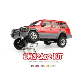 Orlandoo Orlandoo 1/32 4WD DIY RC Car Kit Orlandoo Hunter OH32A02 RC Rock Crawler Without Electronic Parts