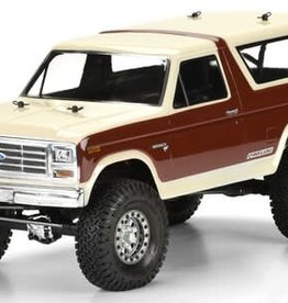 Pro-Line Pro-Line 1981 Ford Bronco 12.3 Crawler Body (Clear)