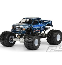 Pro-Line PRO3247-00 2008 Ford F250 Clear Body for Solid Axle Monster Trucks