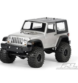 Pro-Line PRO3322-00 2009 Jeep Wrangler Clear Body for 1:10 Scale Crawlers