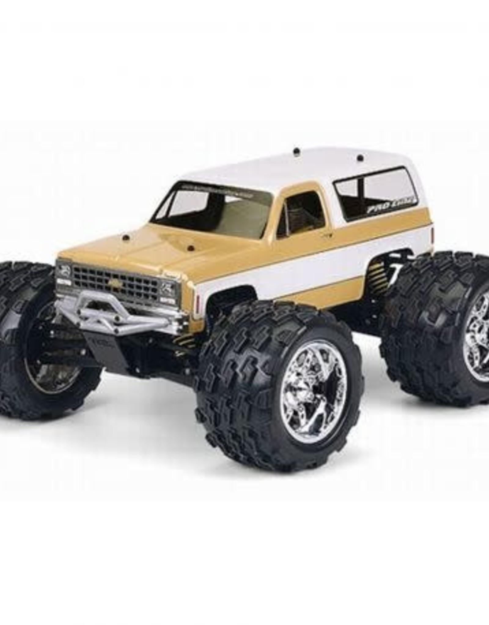 Pro-Line Pro-Line Maxx Revo '80 Chevy Blazer Clear 1/10 Rock Crawler Body