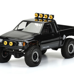 "Pro-Line Pro-Line 1985 Toyota HiLux SR5 12.3"" Rock Crawler Body (Clear) (Honcho) [ PRO3466-00]"