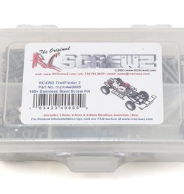 RC Screwz RC Screwz RC4WD Trail Finder II Stainless Steel Screw Kit