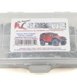 RC Screwz RCZTRA081 RC Screwz Traxxas TRX-4 Stainless Steel Screw Ki