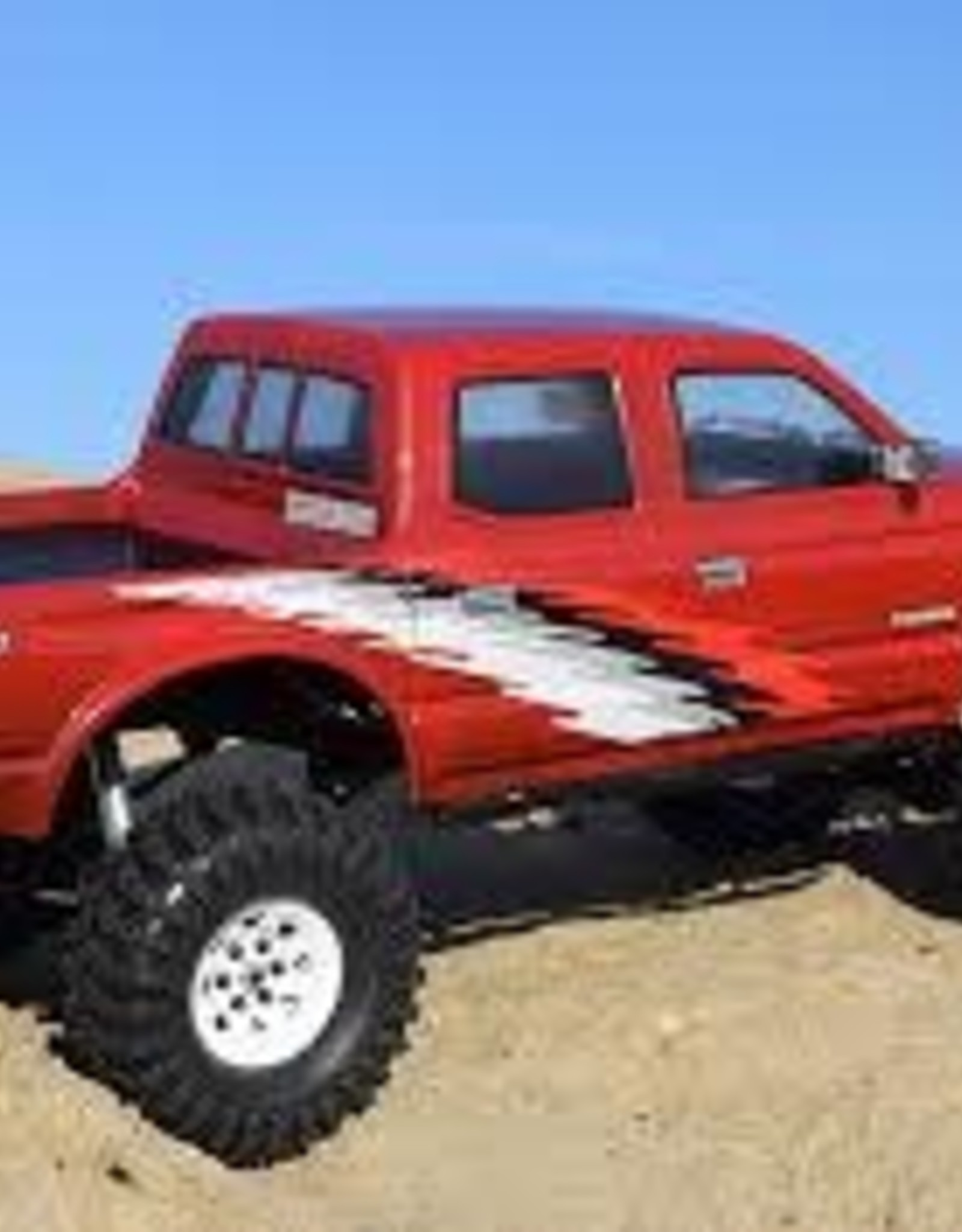 RC4WD RC4WD RC 4WD Z-B0169 2001 Toyota Tacoma 4 Door Body for Tf2 Lwb 313mm/12.3
