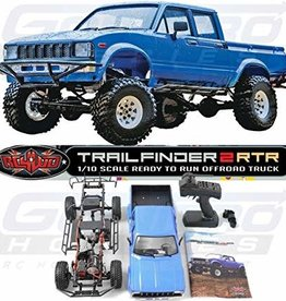 RC4WD C4WD Z-RTR0030 1/10 Trail Finder 2 LWB w/ Mojave II Four Door 4WD RTR
