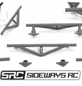 SRC SRCCSHBR Rear Crash Bar by SRC White