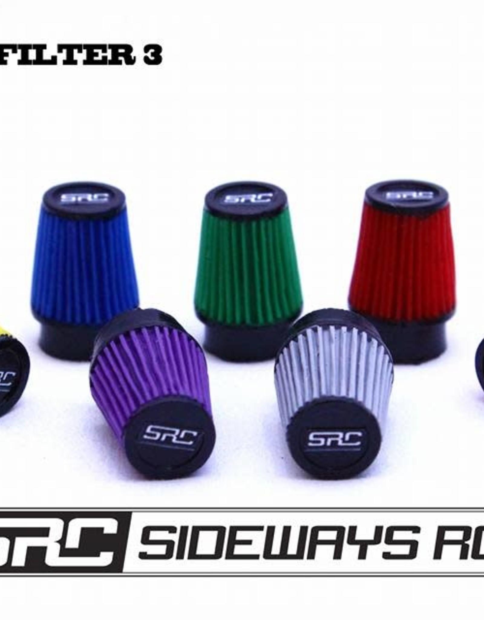 SRC SRCFTR3 CONE FILTER SYLE 3 BY SRC Orange