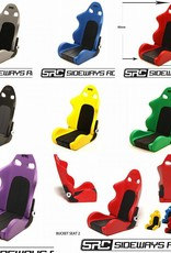 SRC SRCST BUCKET SEAT BY SRC Red