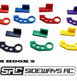 SRC SRCTOW3 JDM TOW HOOK STYLE 3 BY SRC Green