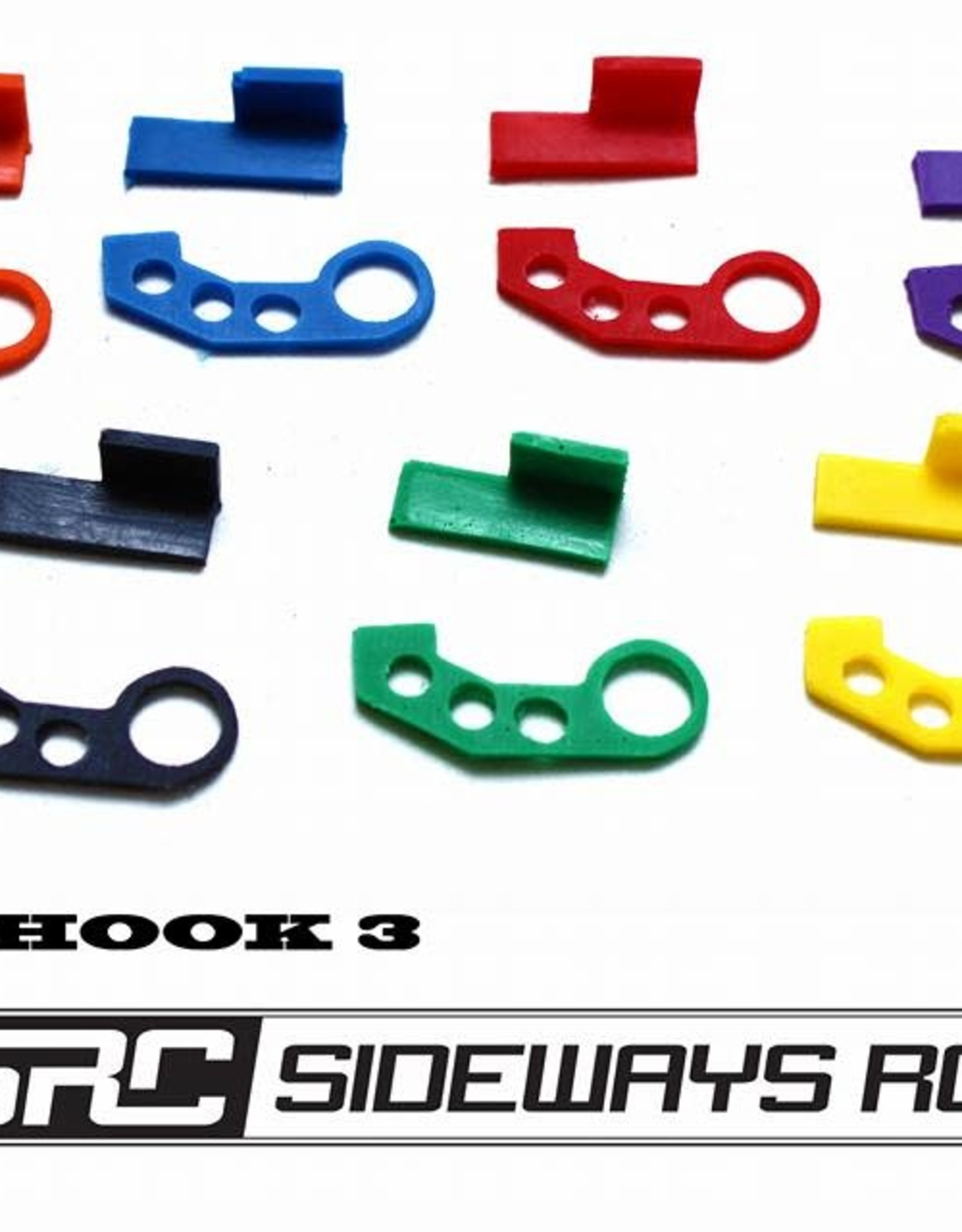 SRC SRCTOW3 JDM TOW HOOK STYLE 3 BY SRC Red
