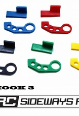 SRC SRCTOW3 JDM TOW HOOK STYLE 3 BY SRC Yellow