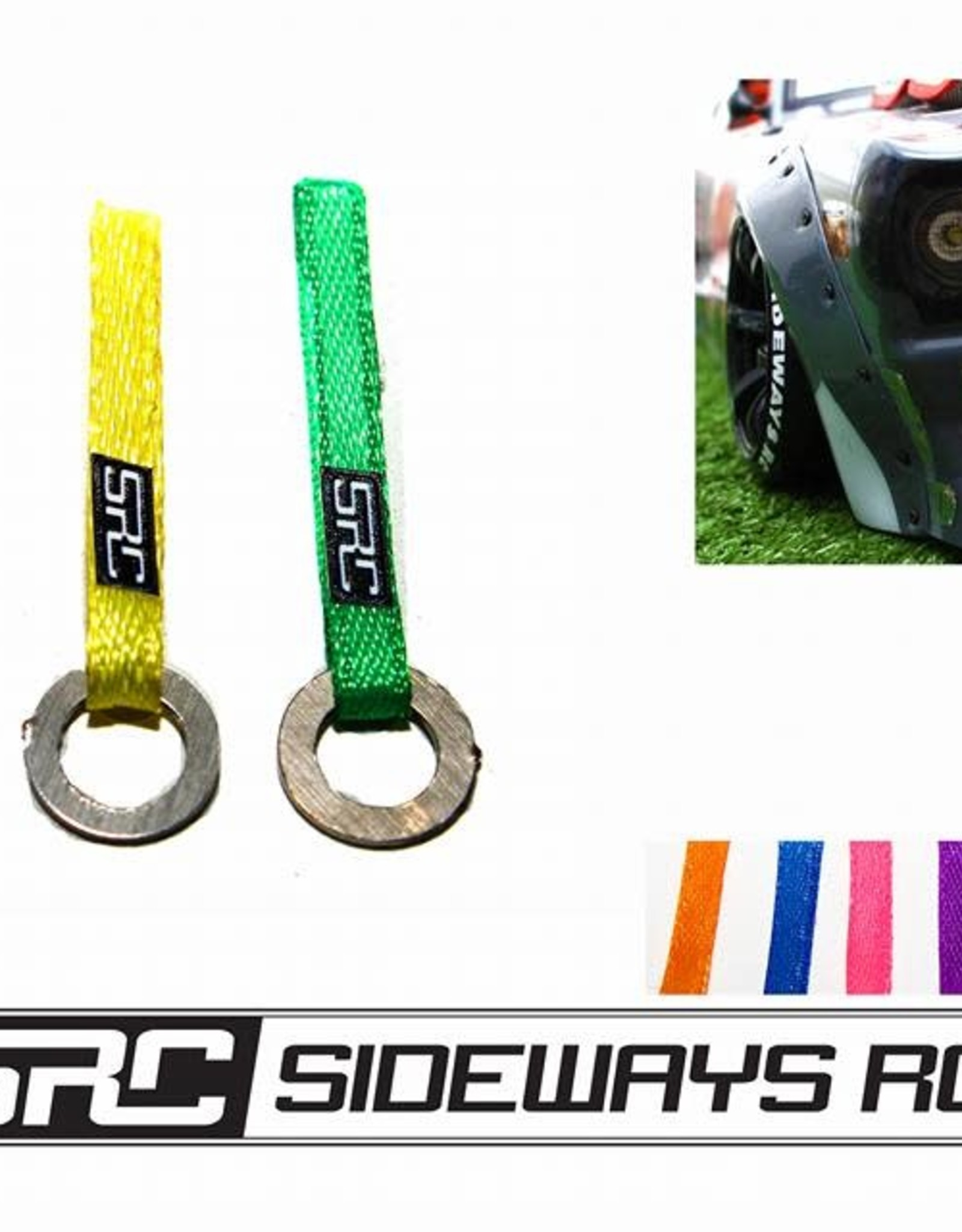 SRC SRCTOWR SRC NYLON TOW SLING WITH RING HOOK BY SRC Blue