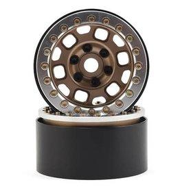 "SSD SSD RC 1.9"" Contender Beadlock Wheels (Bronze)"