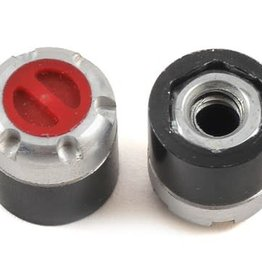 SSD SSD RC Scale Locking Hubs (Red) (2)