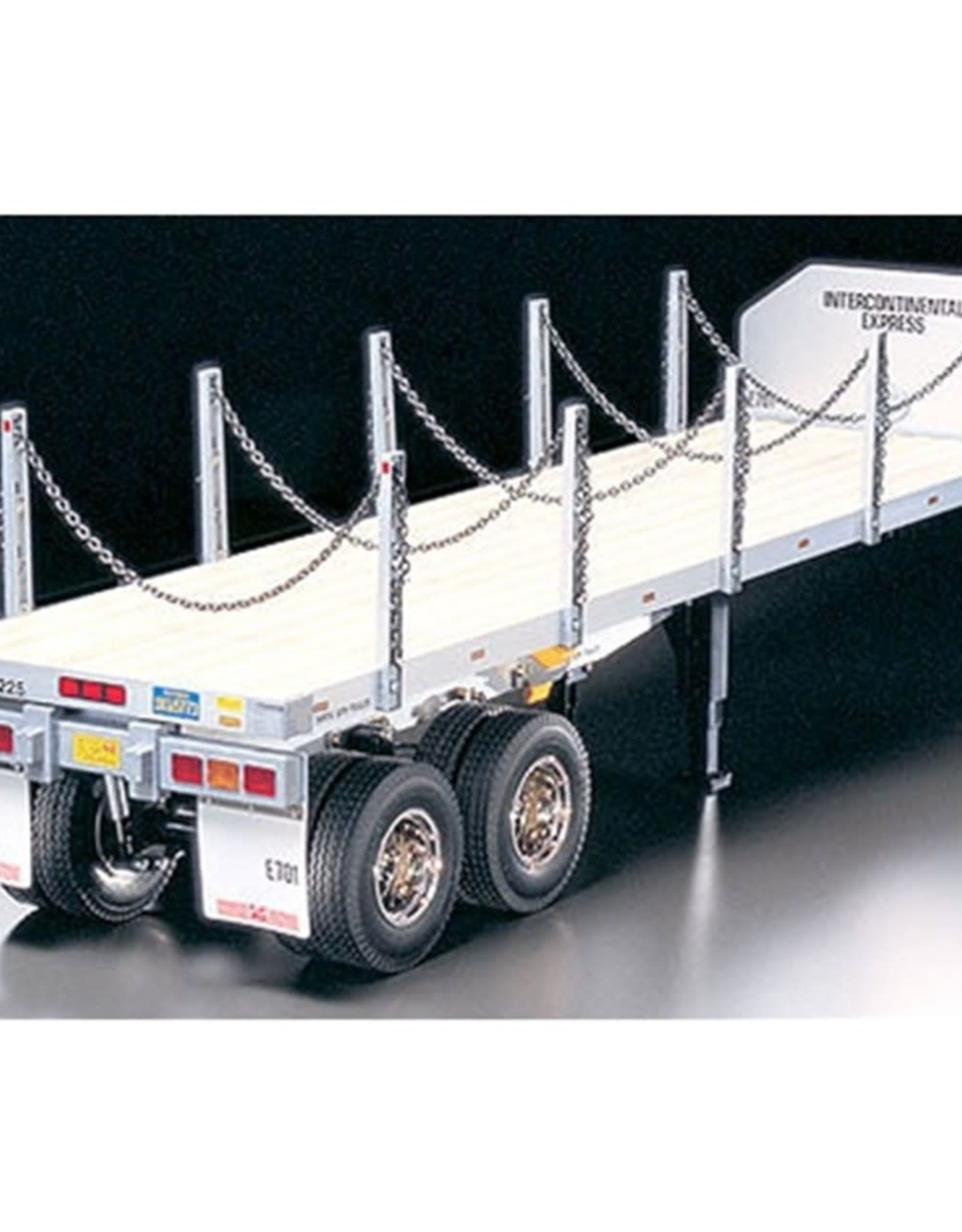 Tamiya Tamiya 1/14 Flatbed Semi Trailer Kit TAM56306