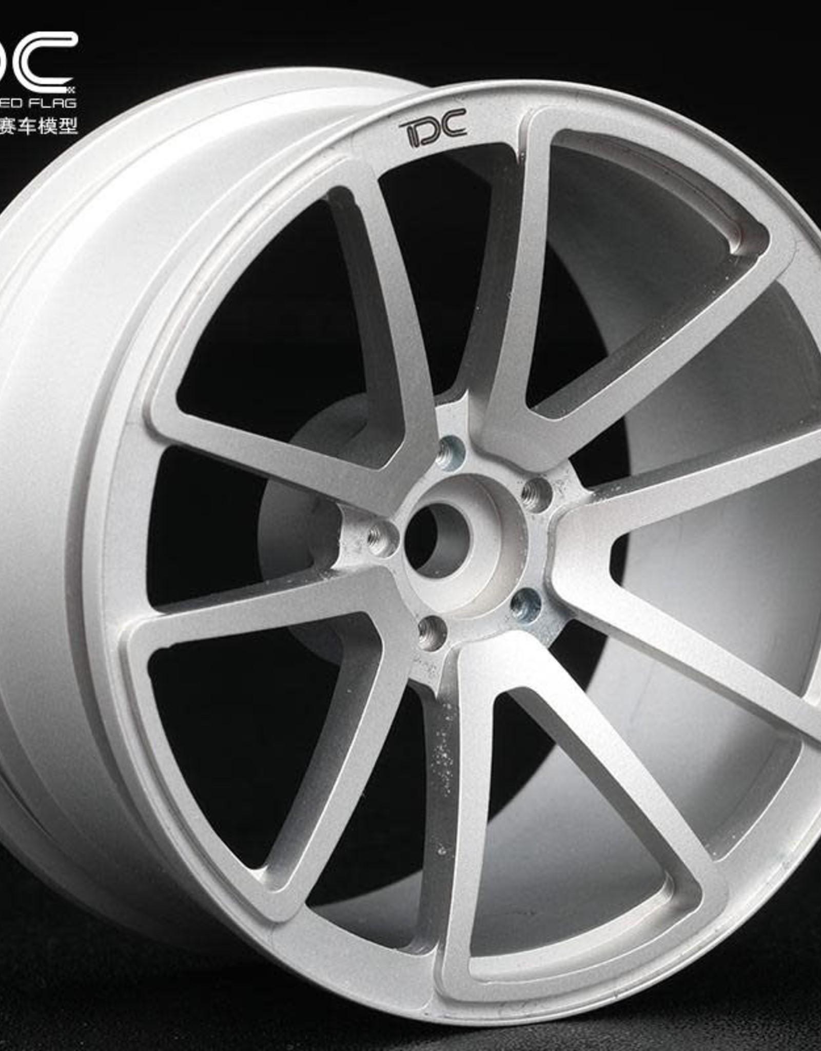 Team DC DC-50445 DC-50445 Aluminum CNC Drift Wheel SPF 6mm Offset Black (4) by Team DC