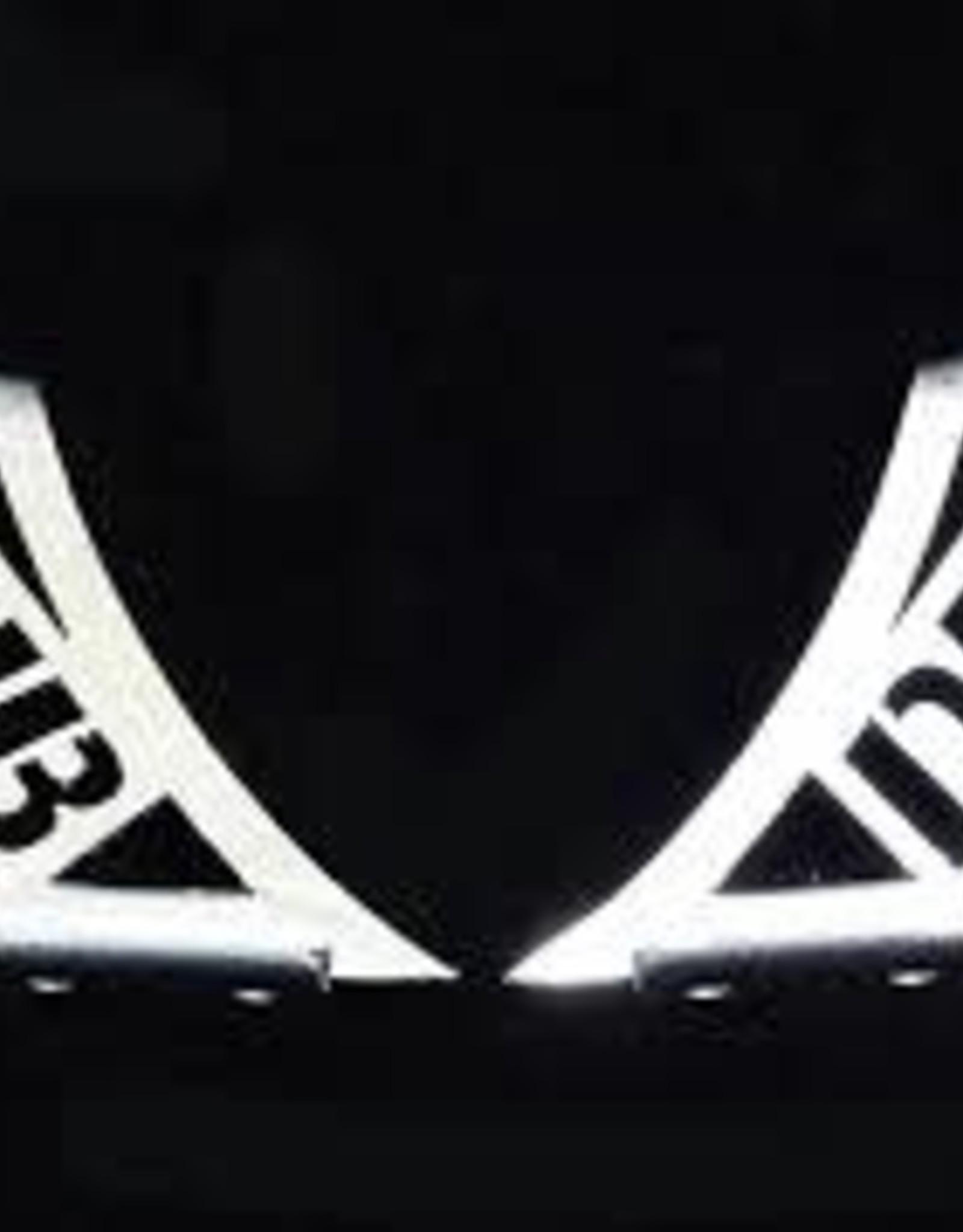 Team DHB DHB27SL Aluminium Spoiler Mount Silver Logo Short by Team DHB