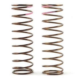 Tekno Rc Tekno RC Low Frequency 75mm Front Shock Spring Set (Pink - 3.82lb/in